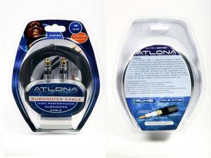 Atlona AT22030-4 4M (13FT) SUBWOOFER CABLE