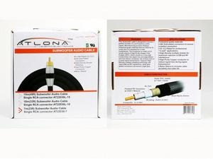 Atlona AT22030-7 7M (23FT) SUBWOOFER CABLE