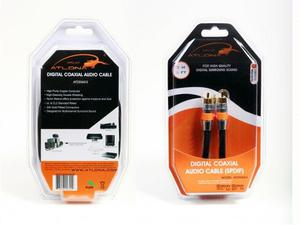 Atlona AT22060-2 2M (6FT) DIGITAL COAXIAL (SPDIF) AUDIO CABLE