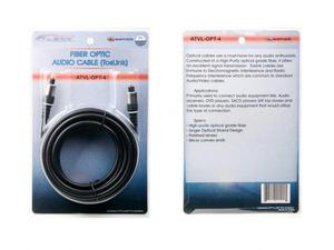 Atlona ATVL-OPT-4 4M (13FT) OPTICAL DIGITAL AUDIO CABLE (VALUE SERIES)