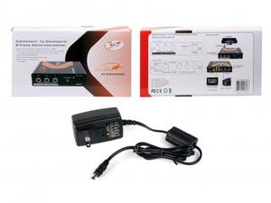 Atlona AT-COMP500-b Component Video to S-Video and Composite Video Down Converter