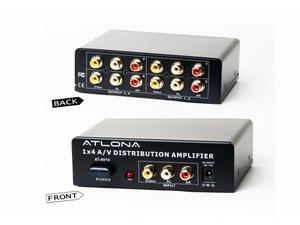 Atlona AT-AV14 1x4 Composite Video and Audio Distribution Amplifier
