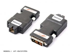 Atlona AT-DVIF20S miniature DVI Transmitter over single Multi Mode Fiber with HDCP and EDID Support