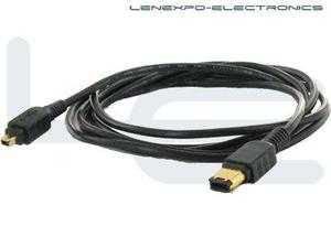 Atlona 16-026 2M ( 6FT ) ATLONA 4-PIN TO 6-PIN FIREWIRE CABLE
