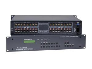 Atlona AT-AV0808 8x8 Professional Composite Audio/Video Matrix Switch
