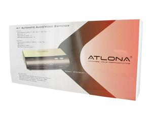 Atlona AT-AVSC41 ATLONA 4:1 VIDEO/S-VIDEO/COMPONENT VIDEO SWITCH ( AUTOMATIC )