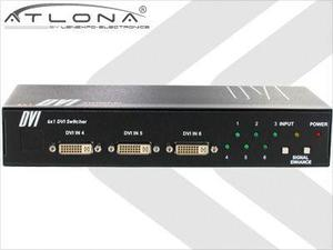 Atlona AT-DVI61 6:1 ATLONA DVI SWITCH ( W/ REMOTE CONTROL )