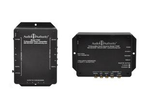Audio Authority 1720RT Component Video and analog audio Extender (Transmitter/Receiver) Kit over Cat 5 cable