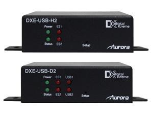 Aurora Multimedia DXE-USB-S2 USB 2.0 480Mb 230ft CAT-6 (STP) Extender (Transmitter/Receiver) Kit