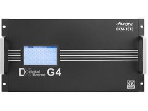 Aurora Multimedia DXM-1616-G4 4K60 Modular 16x16 Matrix Switch