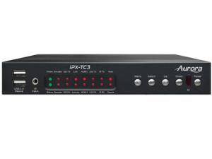Aurora Multimedia IPX-TC3-CF 4K HDMI 10Gbps AV-over-IP Transceiver Box (Copper and Fiber version)