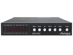 Aurora Multimedia IPX-TC2-F 4x4x4 HDMI 4K60 over Fiber IP Transceiver
