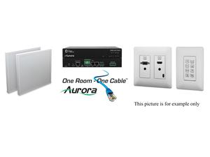 Aurora Multimedia ORC-1C-B HDMI/VGA/Audio HDBaseT Extender Kit with Control/Black