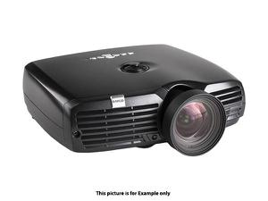 Barco R9023019 F22 1080p Zoom 1900 lumens VizSim Bright Projector/White