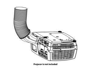 Barco R9801377 F3x Environmental Exhaust Kit/Black