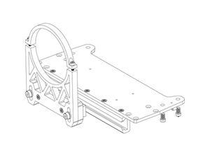 Barco R9801378 F50 lens support bracket