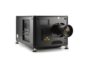 Barco R9012100BT HDX-4K20 FLEX 19000 lumens 4K UHD 3-chip DLP projector with Lens and Stack Frame