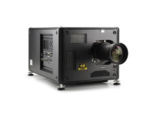 Barco R9014100B1 HDX-4K12 11000 lumens 4K UHD 3-chip DLP projector with Lens