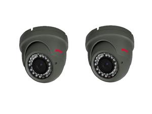 Bolide BTG1209IRODVA/28AHQ-2 Set of 2 2.0 MP HD Analog IR Bullet Camera with 2.8-12mm Lens Kit
