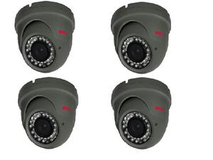 Bolide BTG1209IRODVA/28AHQ-4 Set of 4 2.0 MP HD Analog IR Bullet Camera with 2.8-12mm Lens Kit