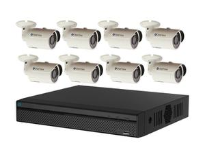 ClearView PantherView8-8B-1080-Kit Panther 4 Megapixel Penta-brid 8 Channel HD-AVS DVR with 2 TB and 8 Bullet Cameras