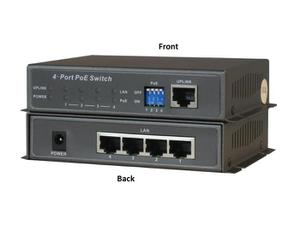 ClearView PoE-04 4 Port PoE Power Switch 65W
