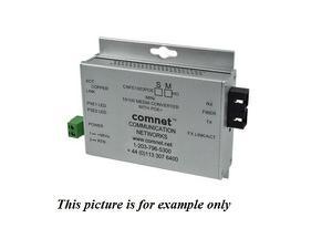 Comnet CNFE1003POEMHO/M 2fiber SM SC Hardened 100Mbps MediaConverter 48V POE 60W