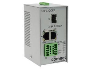 Comnet CNFE3DOE2 RS232/422/485 Data over Ethernet Terminal Server