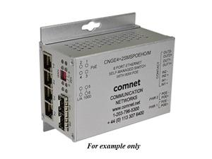 Comnet CNGE4 2SMSPoE Intelligent Redundant Ring Gigabit Switch With Optional PoE