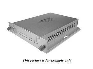 Comnet FDC8ISOTS1 1 Fiber SM 8 Channel Isolated Contact Closure Extender (Transmitter)