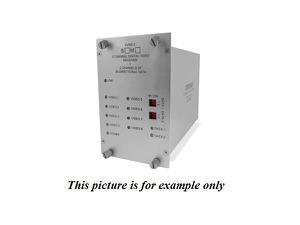 Comnet FVR812S1 SM 1fiber 8 Channel Video Extender (Receiver) with 4 Bi directional Data Channel