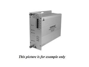 Comnet FVT2014M1 MM 1fiber 2 Channel Video Extender (Transmitter) with 4 Bi directional Data Channel