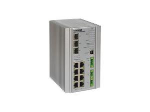 Comnet CNGE11FX3TX8MSPoEK Hardened 11 Port Gigabit Managed Ethernet Switch 3 SFP Ports 8 RJ45 Ports with POE