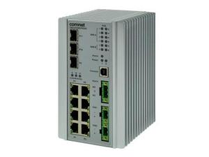 Comnet CNGE3FE8MS Ethernet Switch with 8x 10/100TX plus 3x 100/1000FX Ports