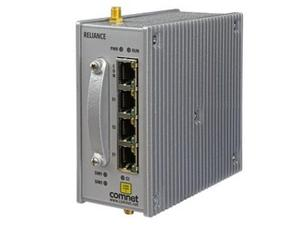 Comnet RL1000GW/AC/ESFP/S24/CNA RL1000GW  with 1x RS-232/1x RS-485 and 1x10/100 Tx/SFP GE/LTE modem (NA bands)/AC PSU