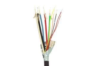 Covid P-5C28-5W-F-500R (5) 28 AWG Coax/(5) Wires/Plenum Cable - 500ft Reel