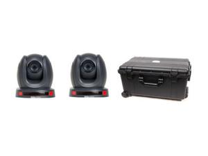 Datavideo GO-2CAM140TC HDBaseT 2x PTZ Camera Kit with HC-800 Case