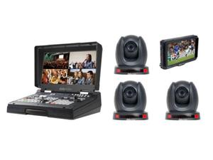 Datavideo HS-1600T-3C140TM HD/SD HDBaseT Portable Video Streaming Studio Kit