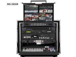 Datavideo MS-2850B HD/SD 8/12-Channel Mobile Video Studio with additional VSM-100