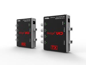 Digital Forecast UHD_OTR 4CH UHD 3G-SDI Extender (Transmitter/Reciever) Set Quad Link