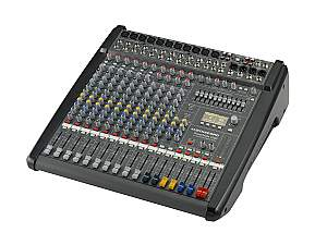 Electro-Voice DCPM10003UNIV Power Mixer/6 Mic/Line w 4 Mic/Stereo Line Channels/6xAUX/Dual 24 bit Stereo Effects/USB Audio Interface/Power Amp 2x1000W