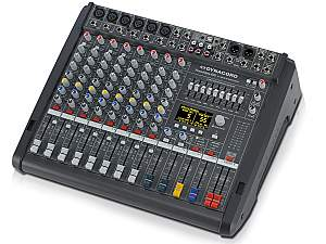 Electro-Voice DCPM6003MIG Power Mixer/4 Mic/Line w 4 Mic/Stereo Line Channels/3xAux/Dual 24 bit Stereo Effects/USB Audio Interface/Power Amp 2x 1000W