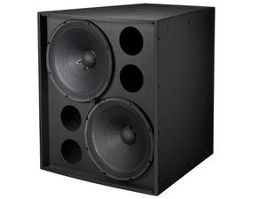 Electro-Voice EVF2151DBLK Dual 15 inch Front‑Loaded Subwoofer/Evcoat/Black