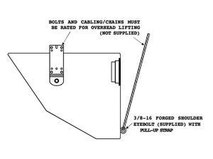 Electro-Voice EVI15MBWH Mounting Bracket for EVI-15 (White)