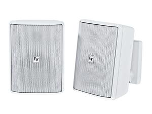 Electro-Voice EVIDS4.2W 4 inch Speaker Cabinet/8Ohm (White/Pair)