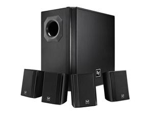 Electro-Voice EVIDS44 Wall-Mount Background Music Speaker System Package (Black)