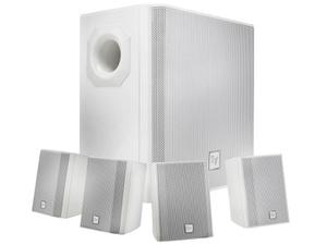 Electro-Voice EVIDS44W Wall-Mount Background Music Speaker System Package (White)