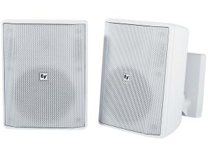 Electro-Voice EVIDS5.2W 5 inch Speaker Cabinet/8Ohm (White/Pair)
