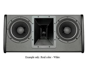 Electro-Voice FRI2082WHT FRi Series Dual 8 inch 200W RMS/800W Peak 2-Way Speaker (White/U-Bracket)