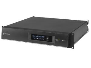 Electro-Voice IPX10:8 DSP Power Amplifier 8x1250W with OMNEO/Dante/FIR Drive/32A powerCON Power Connector